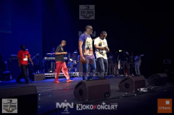 Dbanj and Mohits Performing