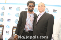 Basketmouth and Guy Murray Bruce