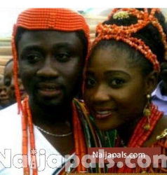 Mercy Johnson and Husband Prince Odi Wedding