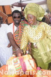 Mercy Johnson Traditional Wedding