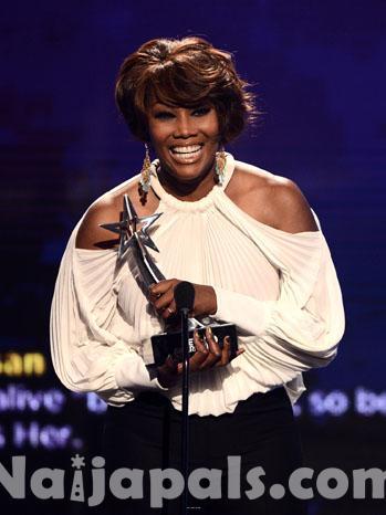 Yolanda Adams as best Gospel Singer