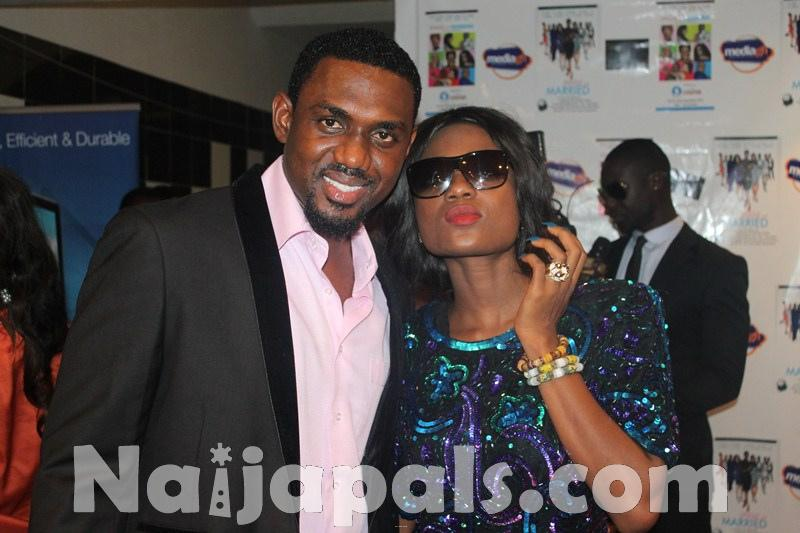 Yvonne Nelson Single and Married Premiere 45