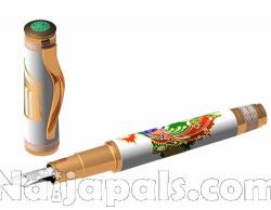4. Omas Phoenix Platinum – Fountain Pen Luxury Limited Edition with Diamonds