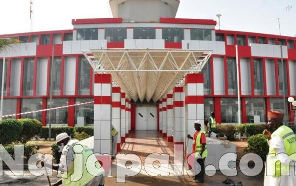 Remodelled Kano Airport Terminal