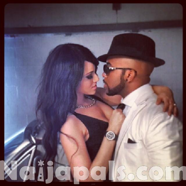 Banky-W-shoots-new-video-Jasi-with-Sesan-Ogunro-in-UK-1