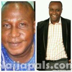 Adebayo Salami aka Oga Bello and Son Femi Adebayo