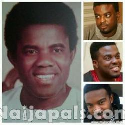 Adeyemi Afolayan aka Ade Love and Sons Kunle, Aremu and Gabriel Afolayan