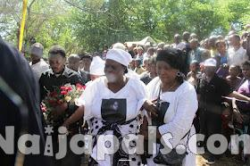 Steven Kanumba's Burial