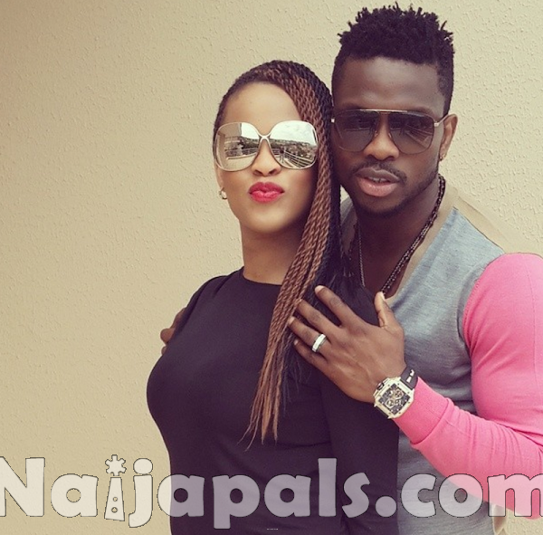 Joseph Yobo and Adaeze.