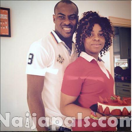 Vincent Enyeama and Promise.