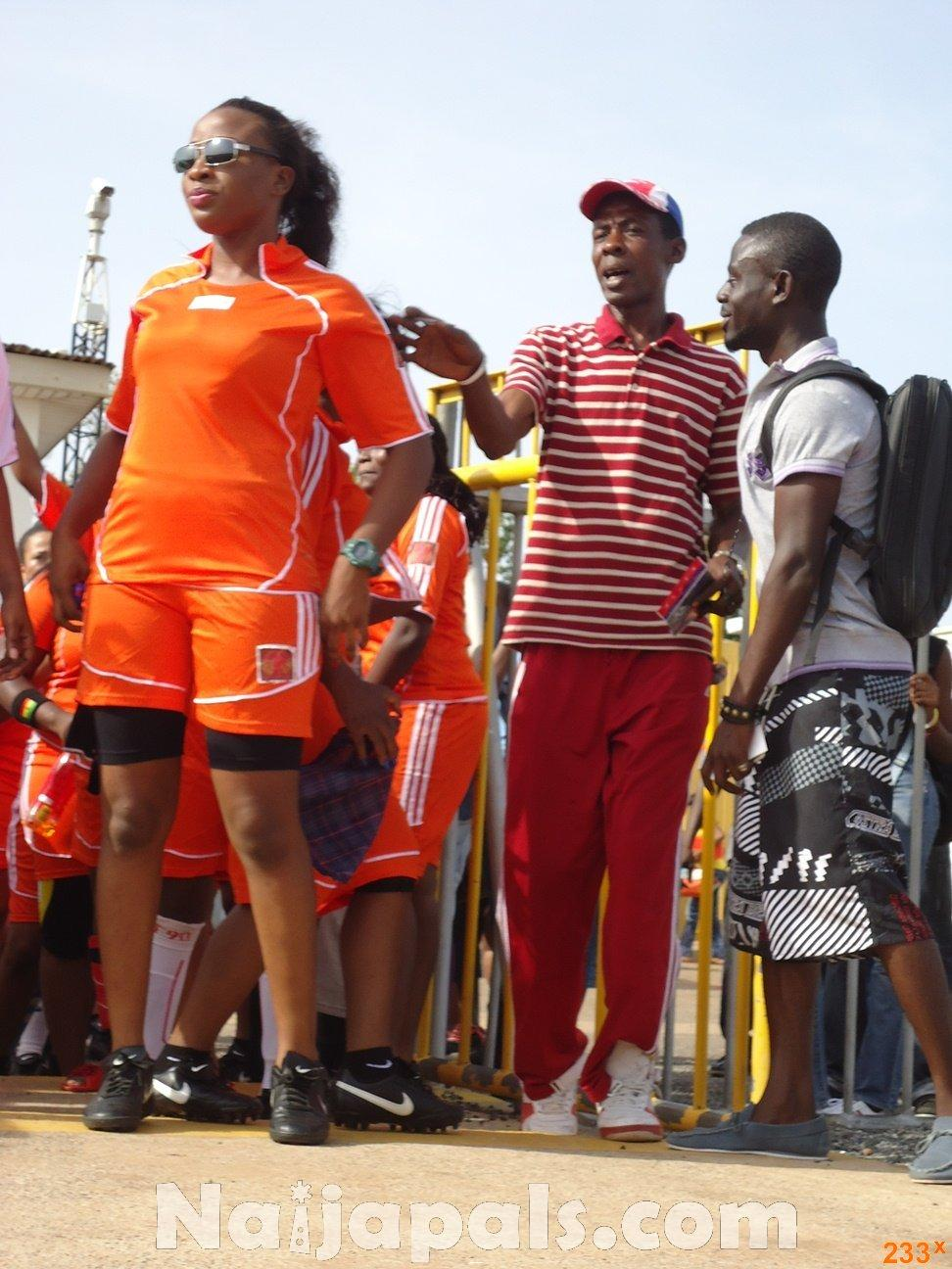 Ghana Female Celebrities Soccer Match 4