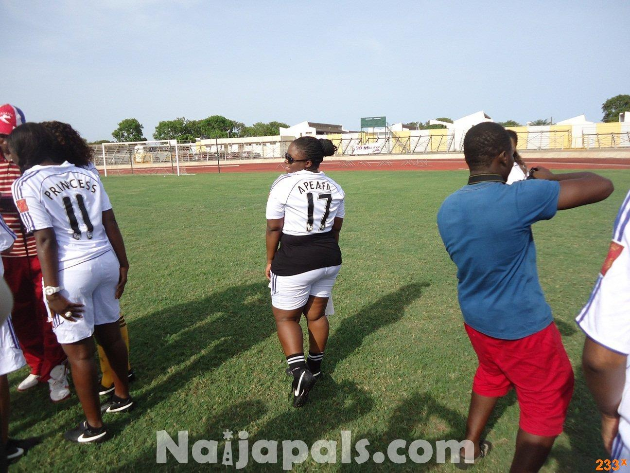 Ghana Female Celebrities Soccer Match 6