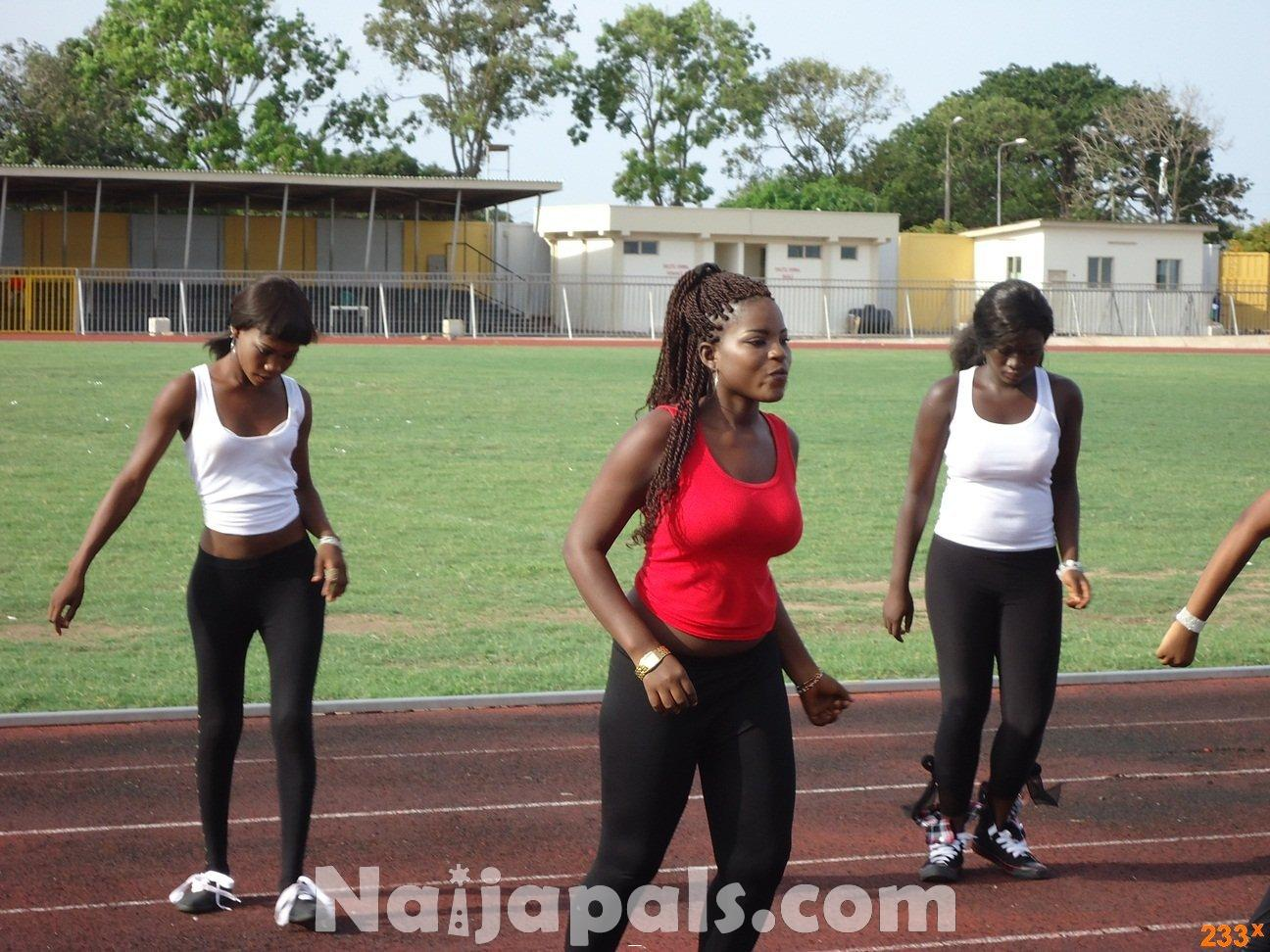 Ghana Female Celebrities Soccer Match 7