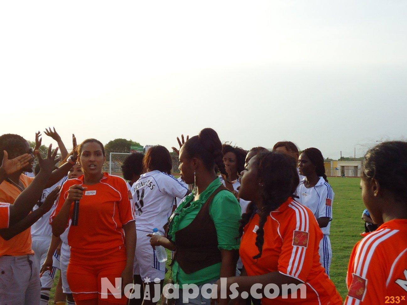 Ghana Female Celebrities Soccer Match 9