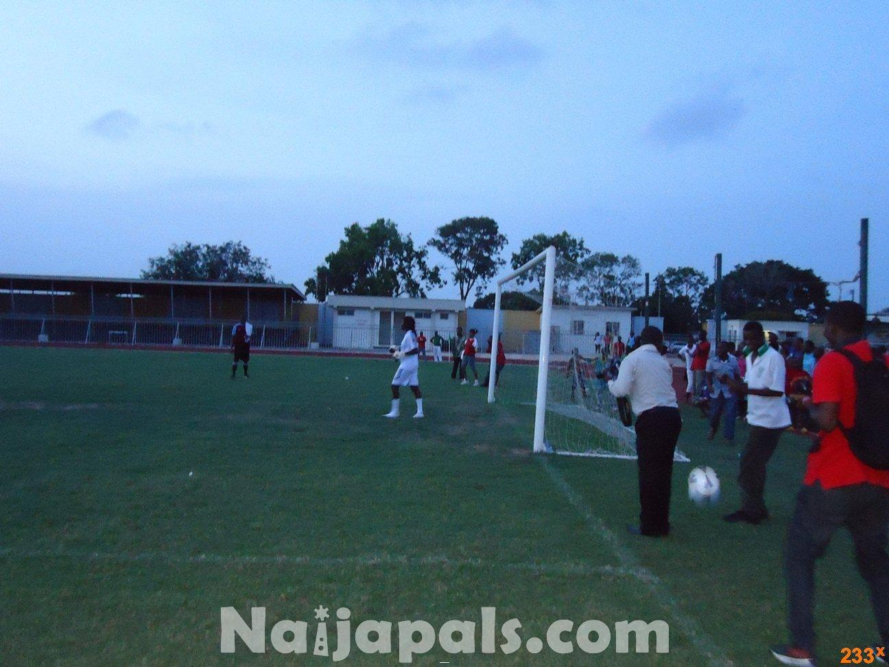 Ghana Female Celebrities Soccer Match 10