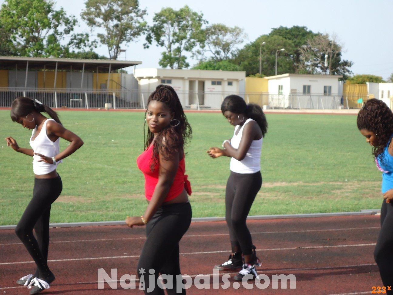 Ghana Female Celebrities Soccer Match 15