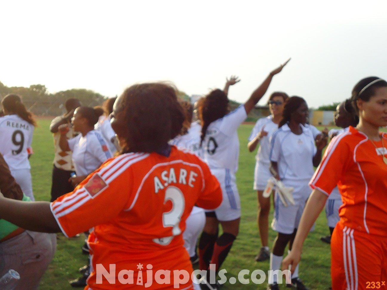 Ghana Female Celebrities Soccer Match 17