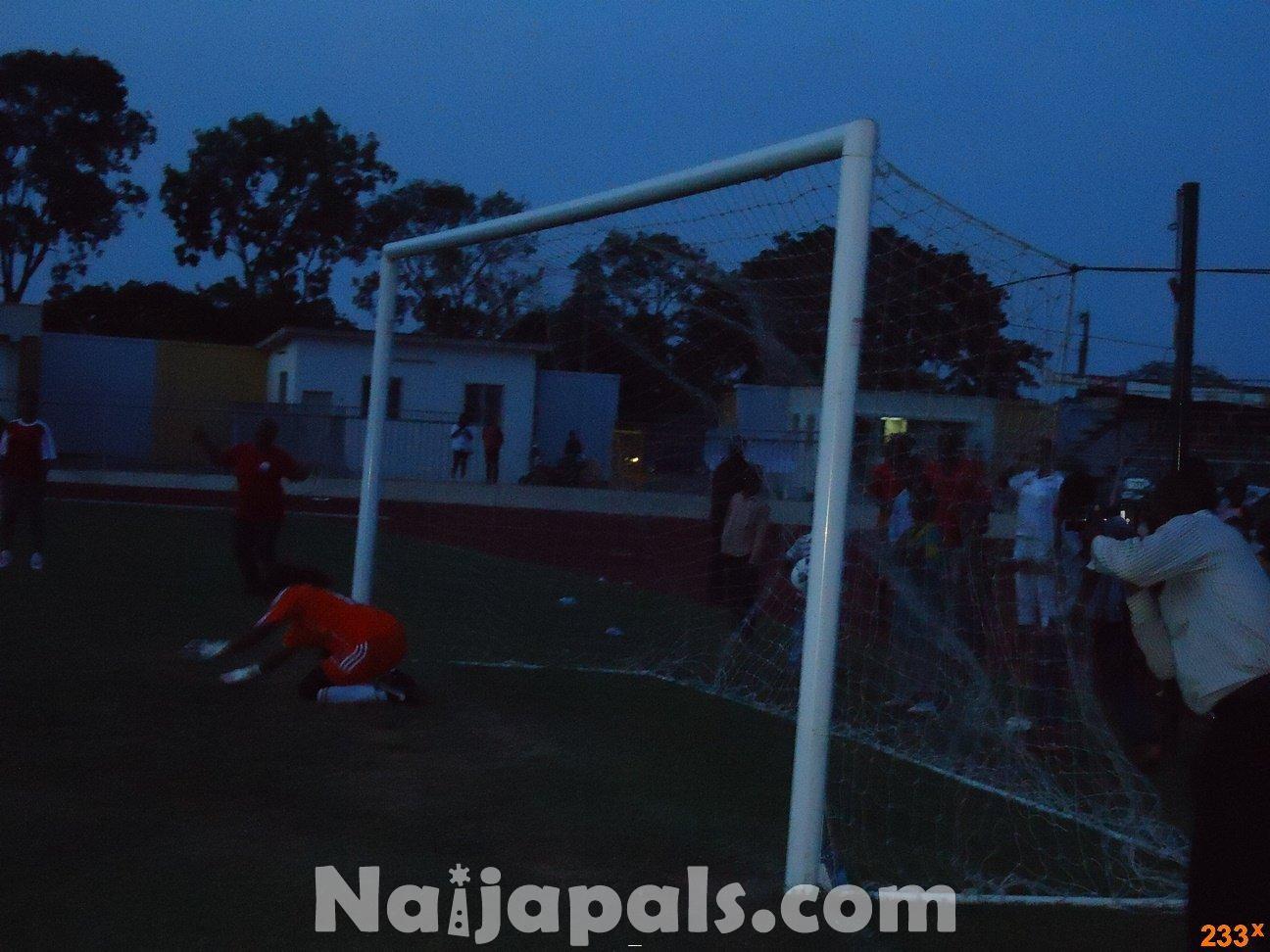 Ghana Female Celebrities Soccer Match 18