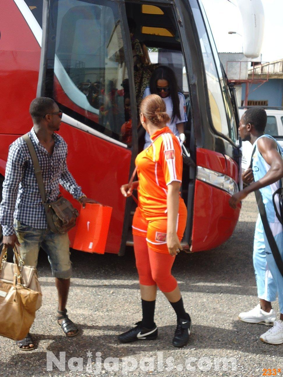 Ghana Female Celebrities Soccer Match 19