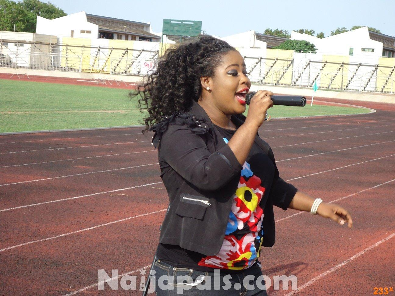 Ghana Female Celebrities Soccer Match 23