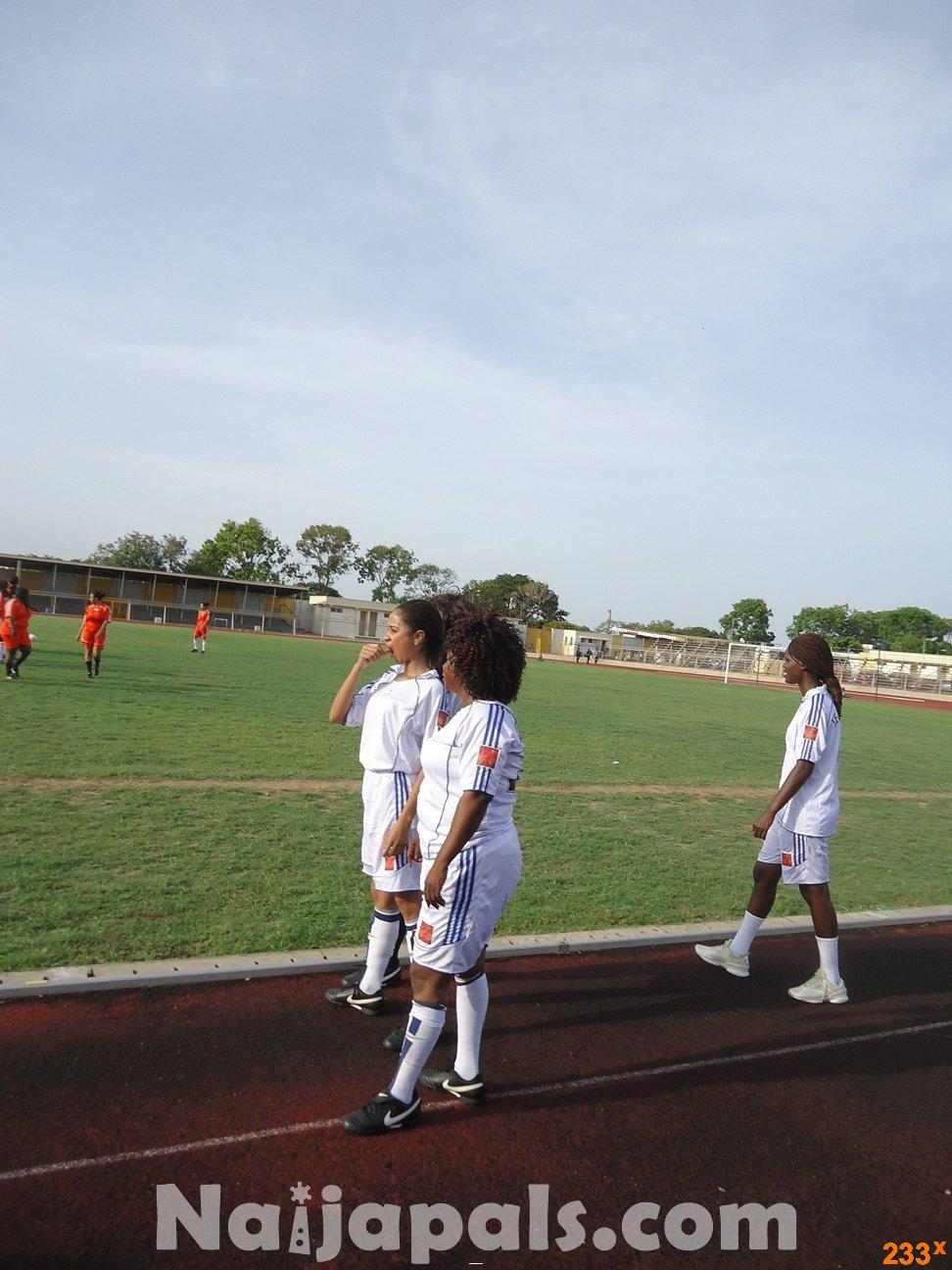 Ghana Female Celebrities Soccer Match 24