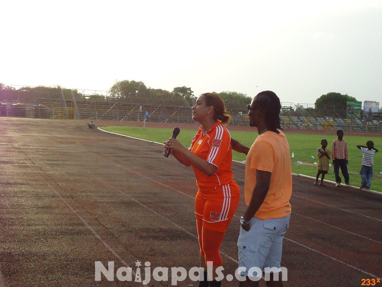 Ghana Female Celebrities Soccer Match 25