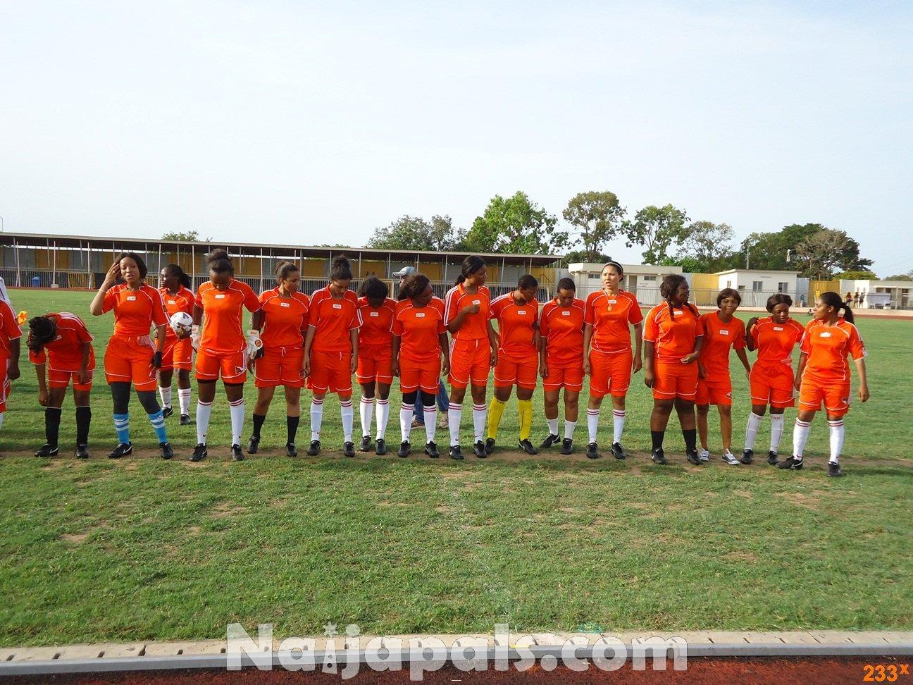 Ghana Female Celebrities Soccer Match 31