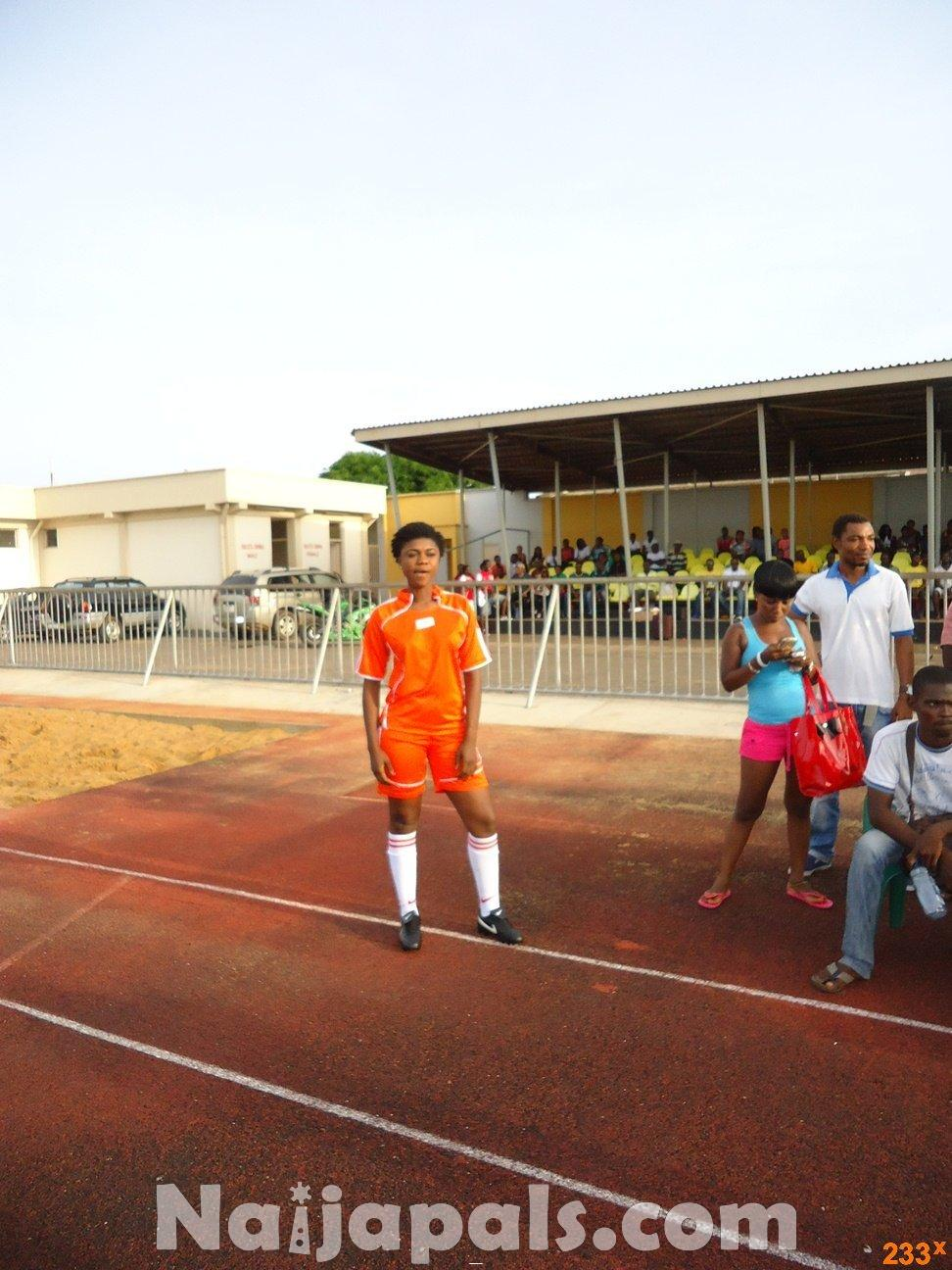 Ghana Female Celebrities Soccer Match 32