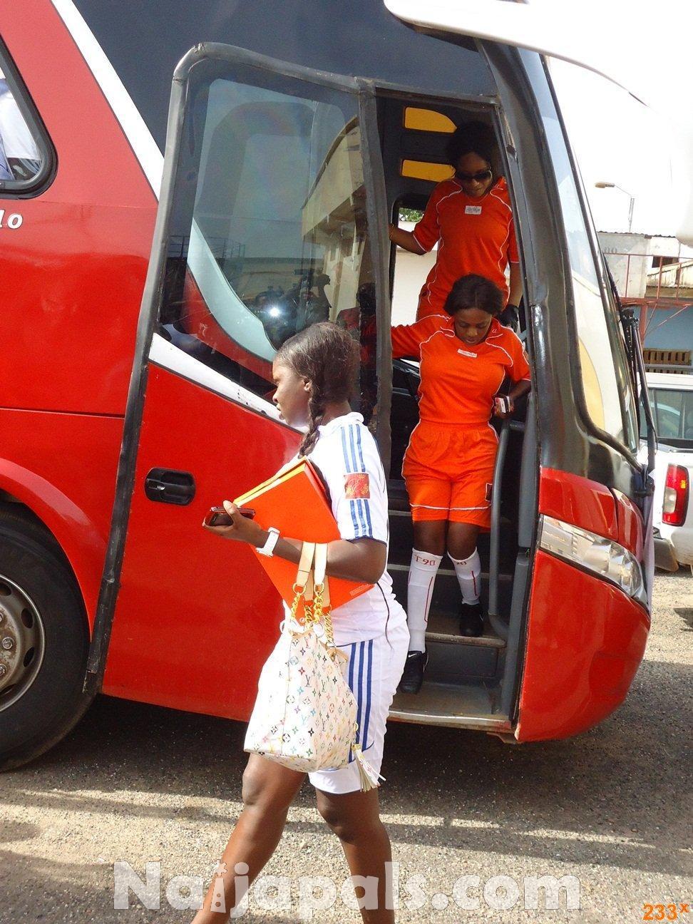Ghana Female Celebrities Soccer Match 42