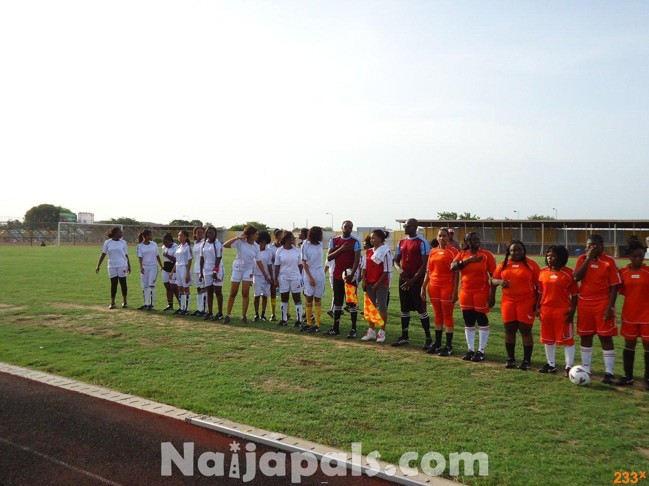 Ghana Female Celebrities Soccer Match 46