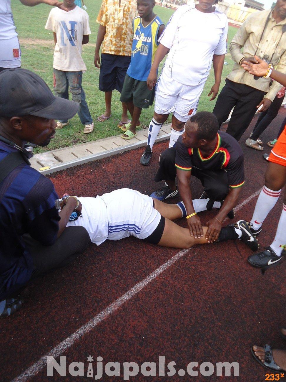 Ghana Female Celebrities Soccer Match 48