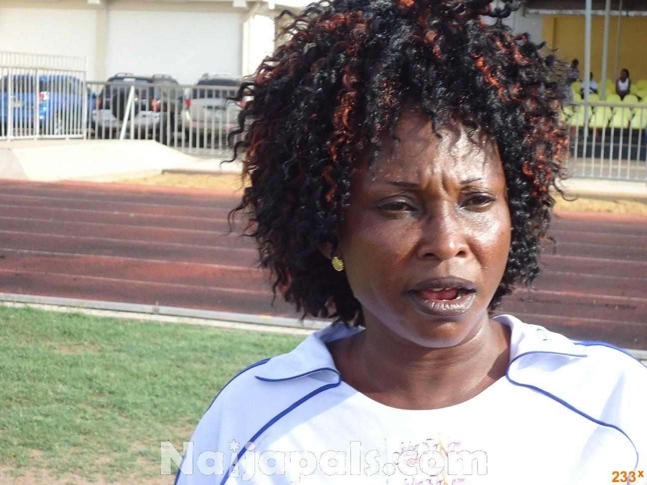 Ghana Female Celebrities Soccer Match 52