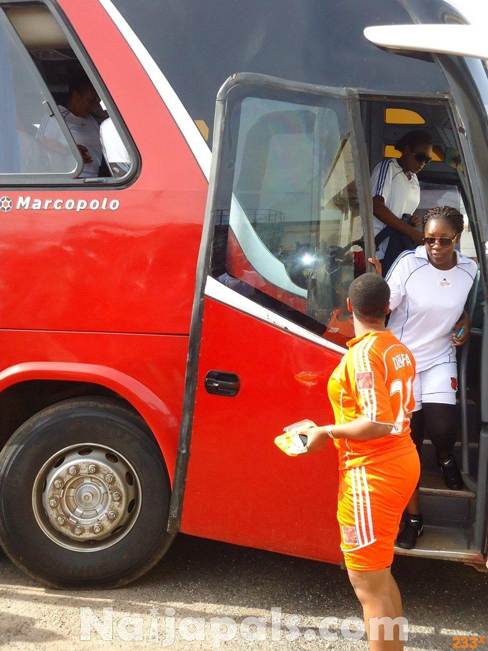 Ghana Female Celebrities Soccer Match 56