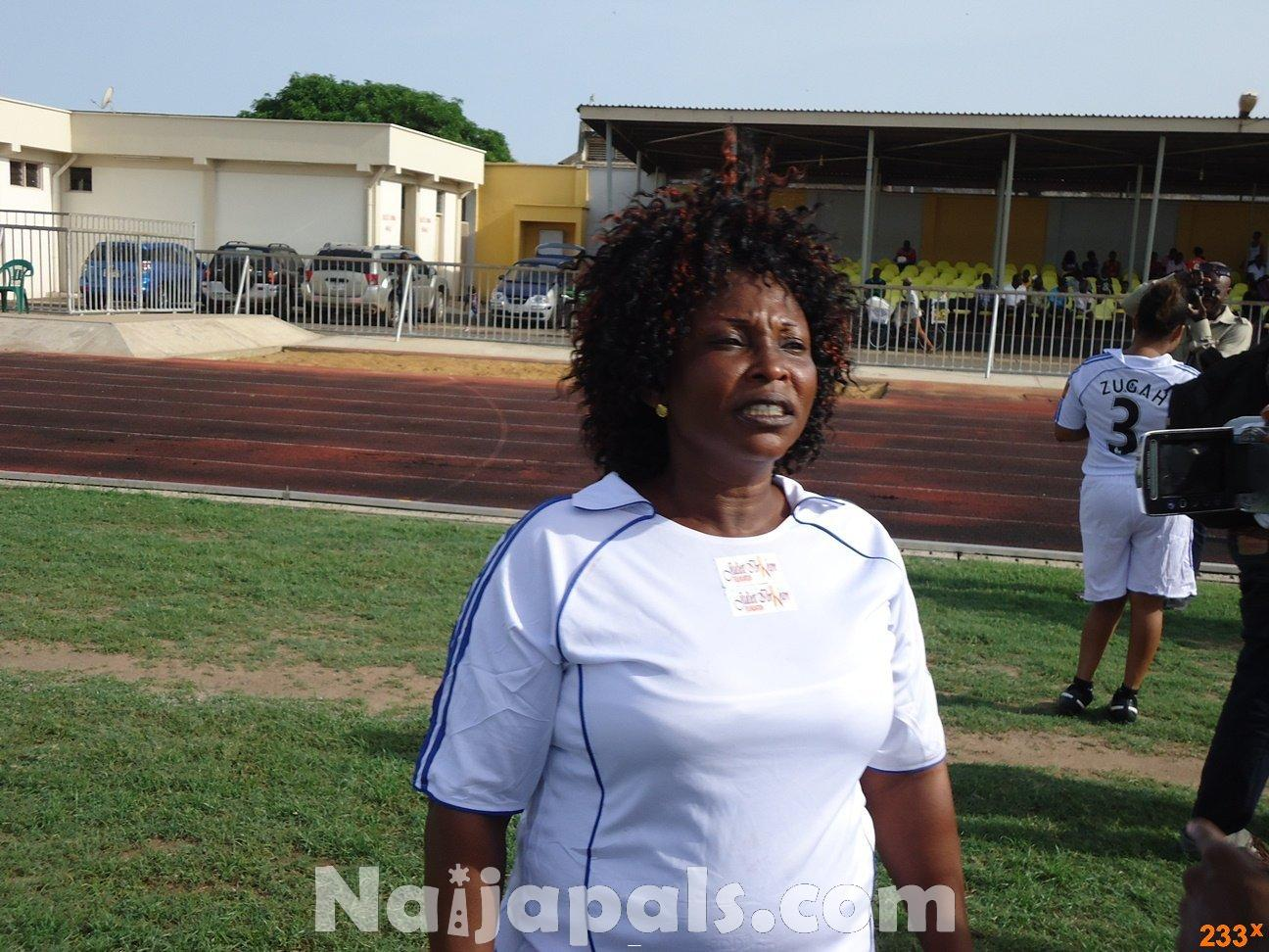 Ghana Female Celebrities Soccer Match 59