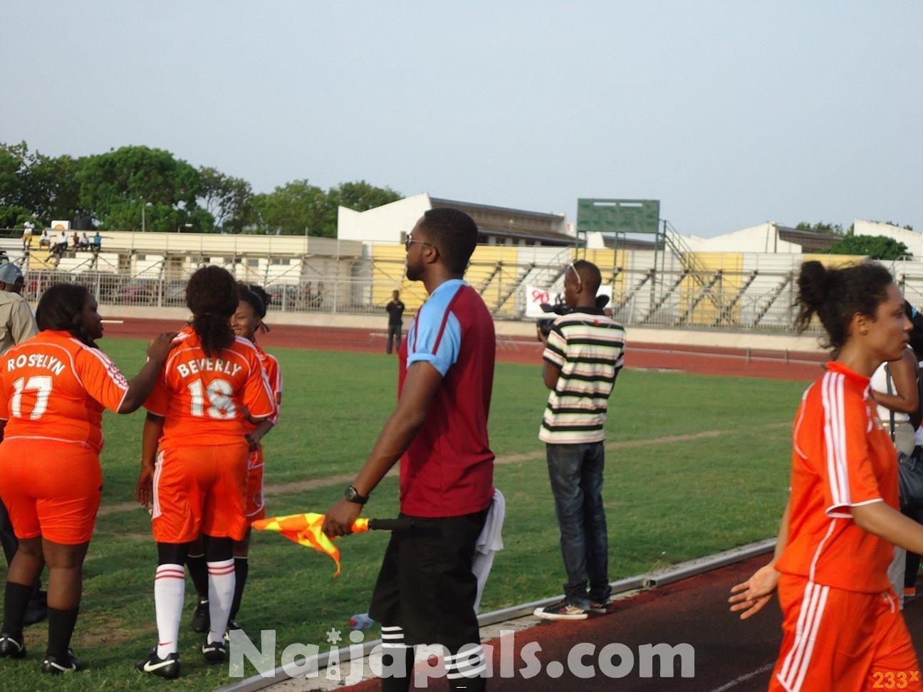 Ghana Female Celebrities Soccer Match 61