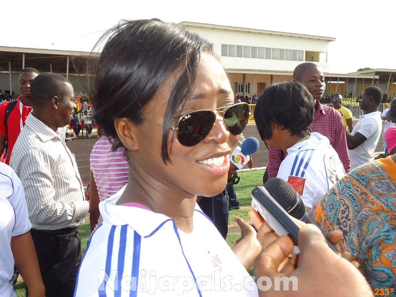 Ghana Female Celebrities Soccer Match 66