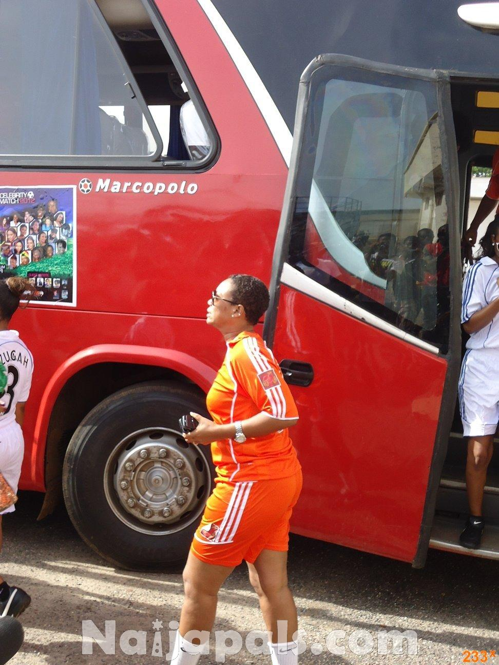 Ghana Female Celebrities Soccer Match 70