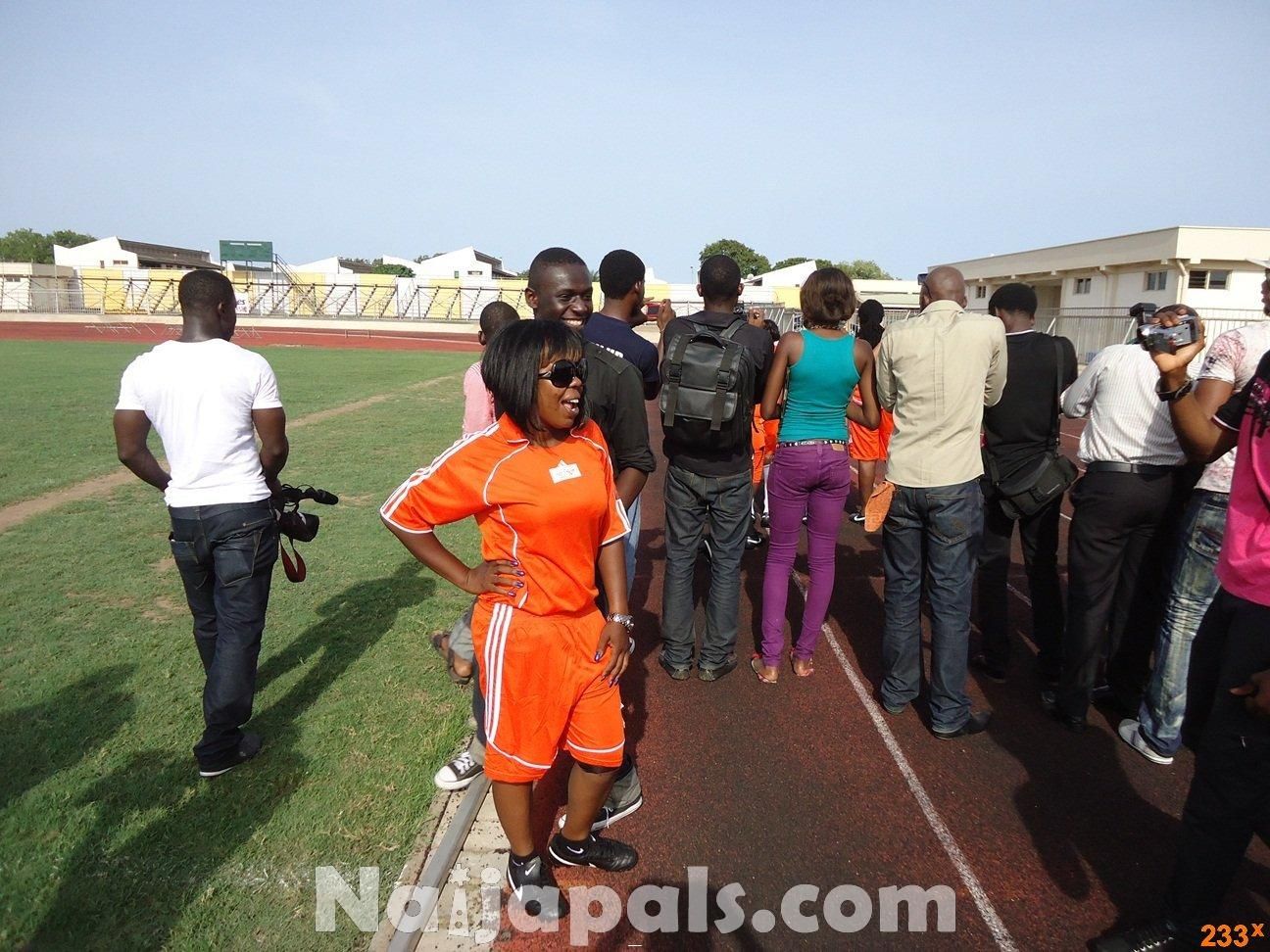 Ghana Female Celebrities Soccer Match 72