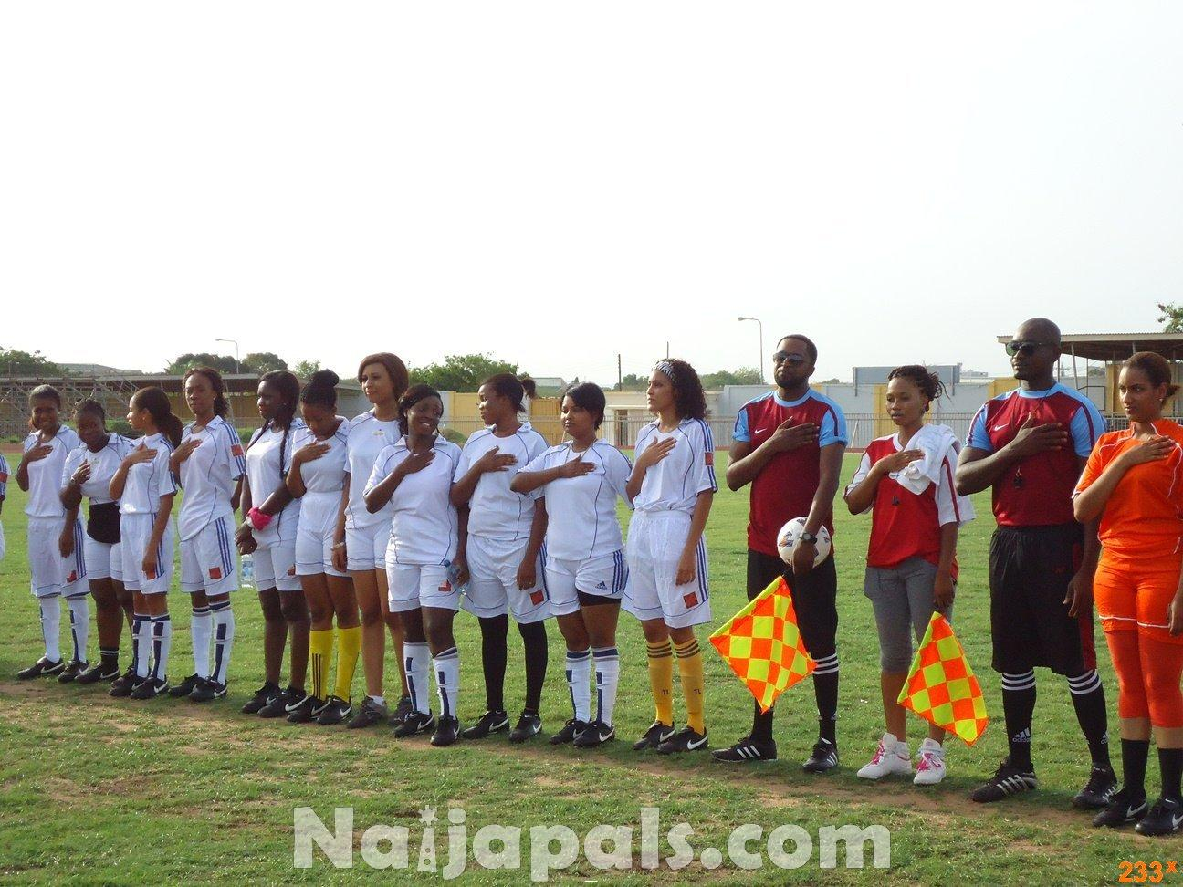 Ghana Female Celebrities Soccer Match 74