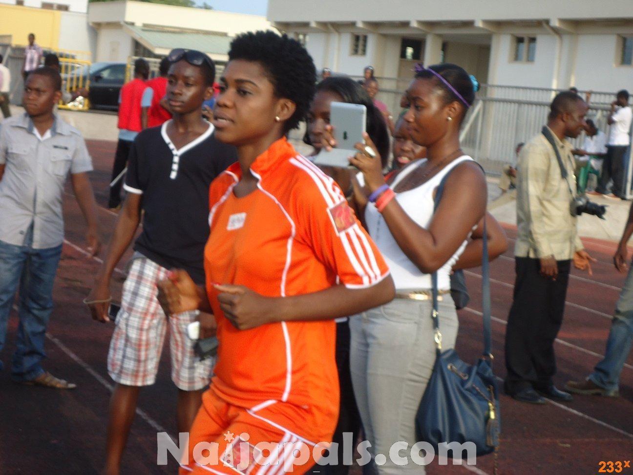 Ghana Female Celebrities Soccer Match 75