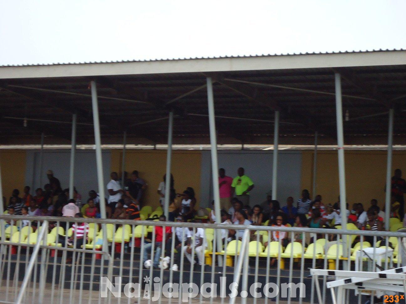 Ghana Female Celebrities Soccer Match 76