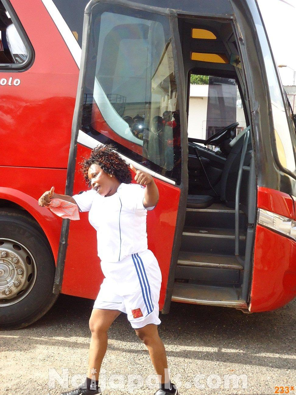 Ghana Female Celebrities Soccer Match 77