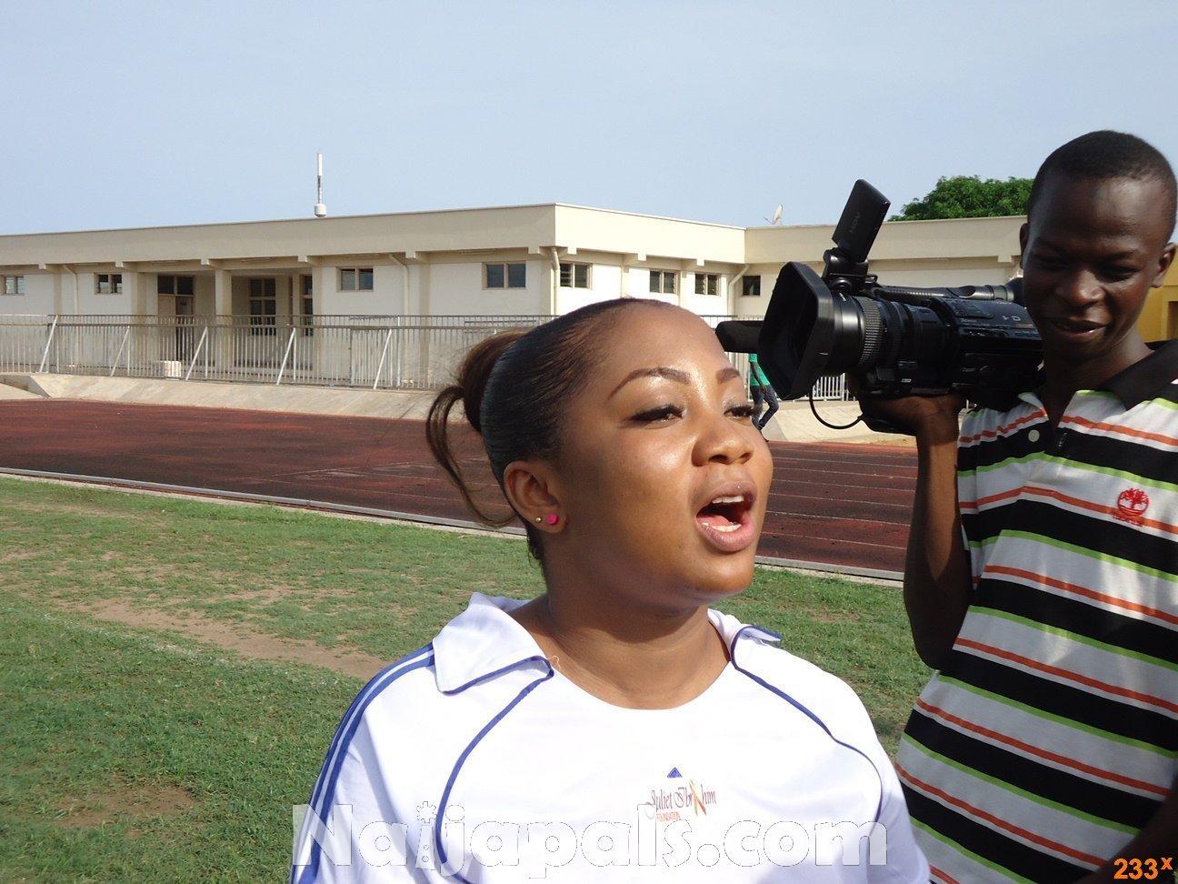 Ghana Female Celebrities Soccer Match 80