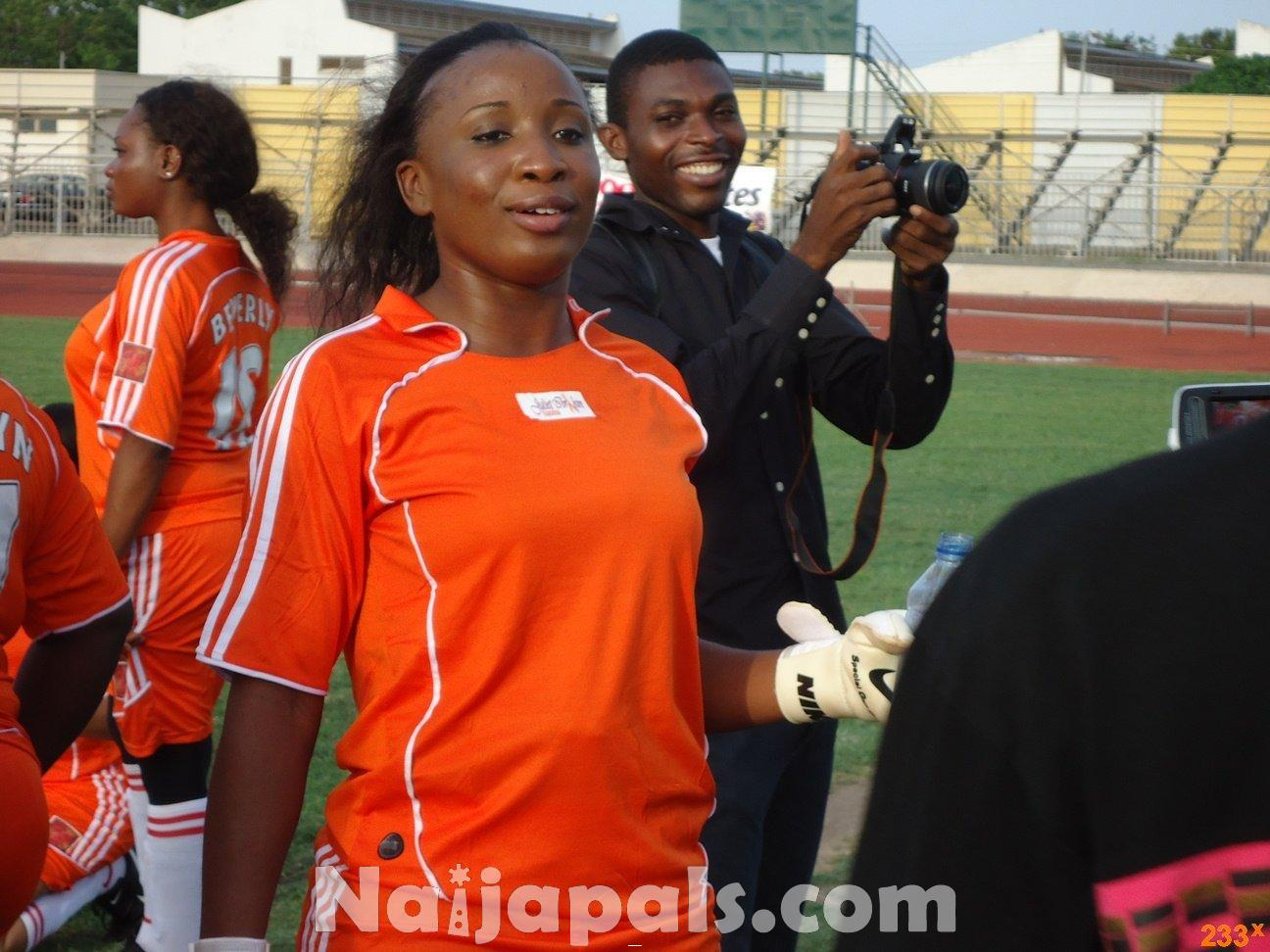 Ghana Female Celebrities Soccer Match 82