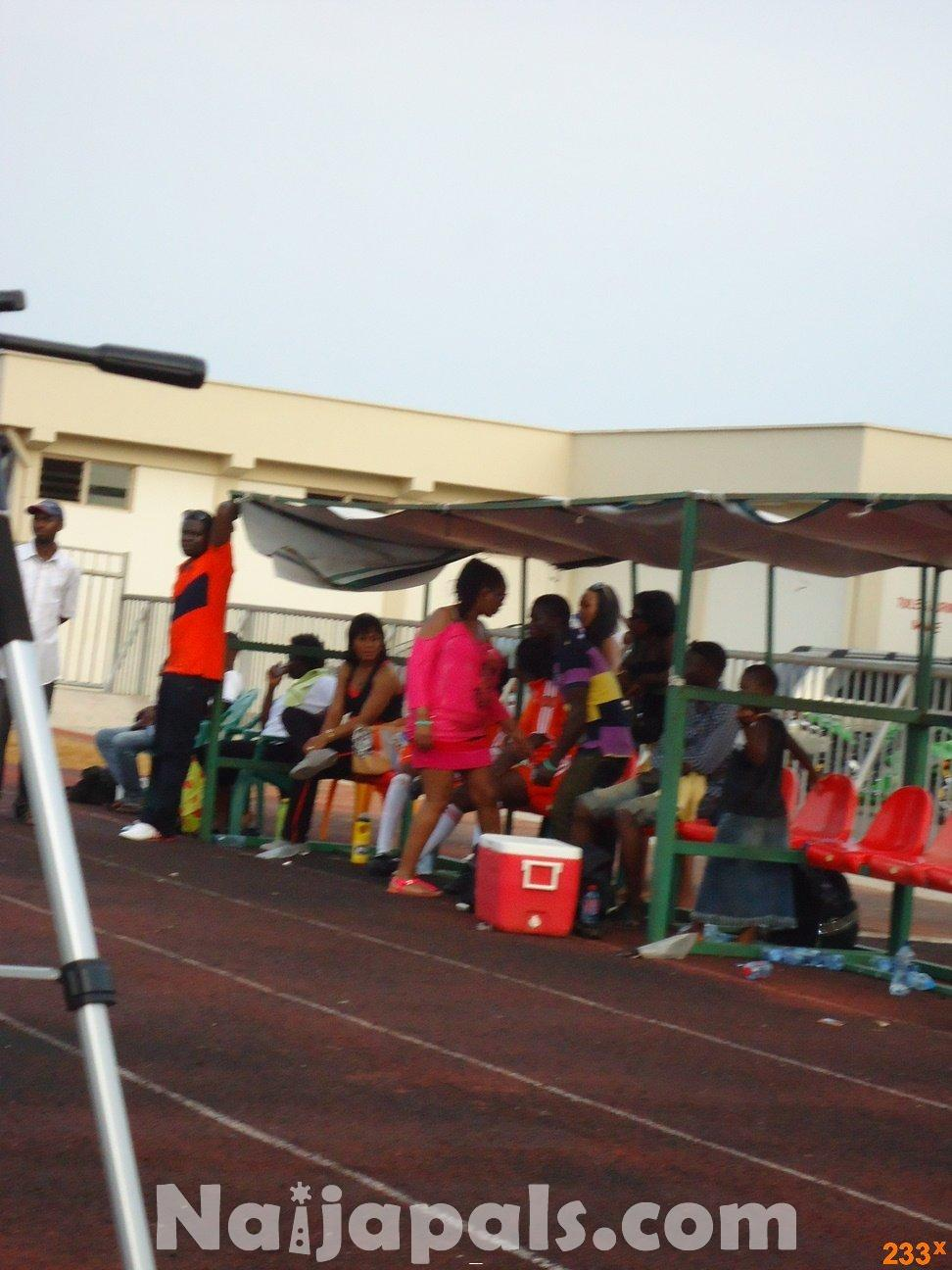 Ghana Female Celebrities Soccer Match 83