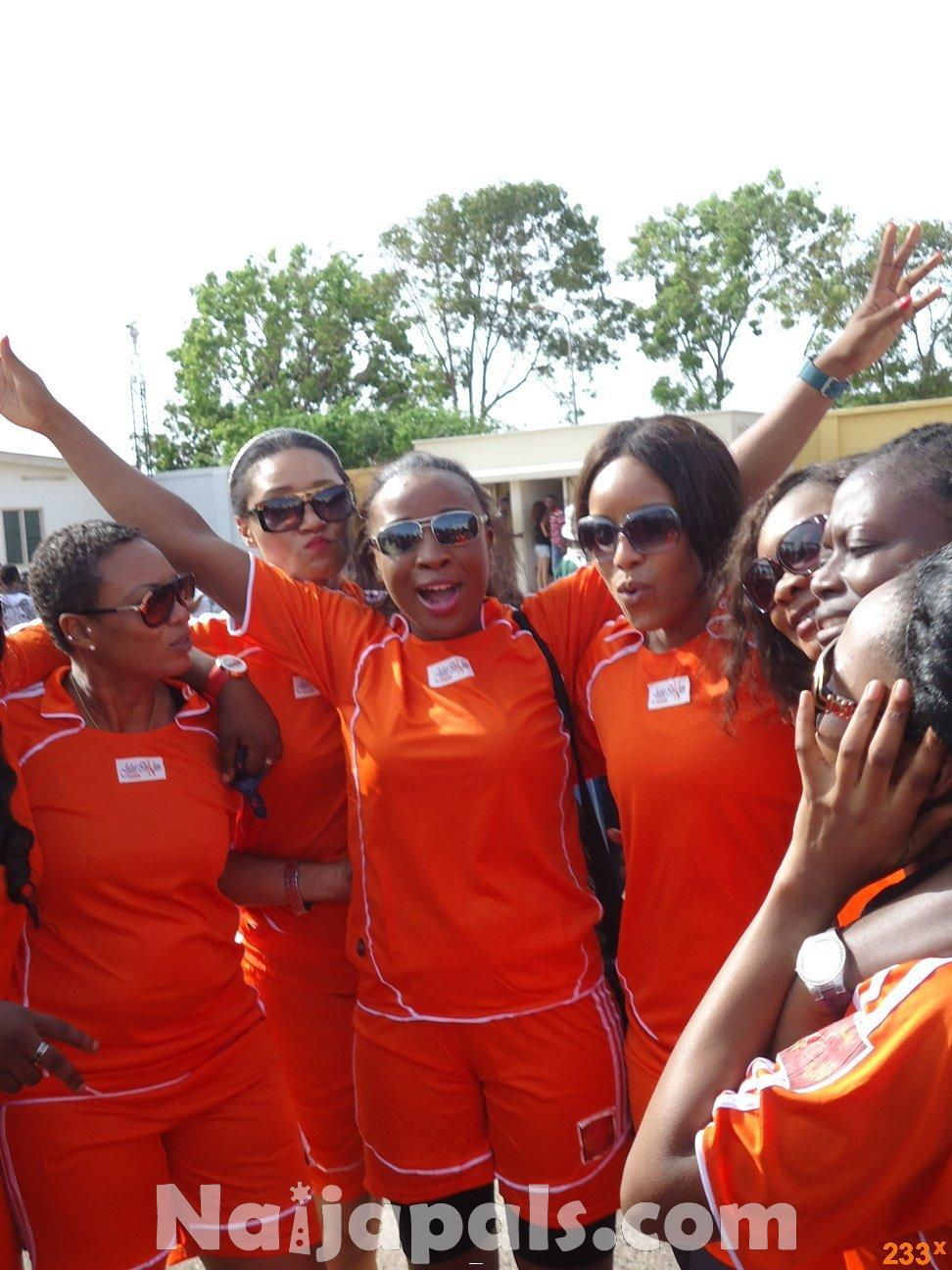 Ghana Female Celebrities Soccer Match 84