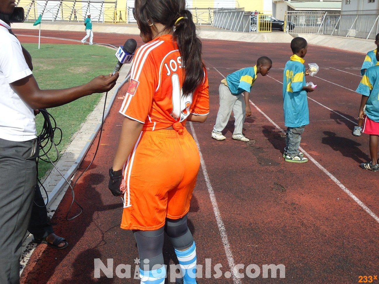 Ghana Female Celebrities Soccer Match 86