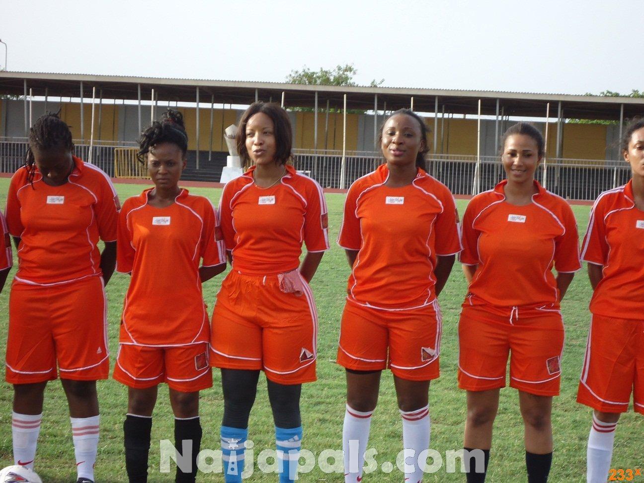 Ghana Female Celebrities Soccer Match 88