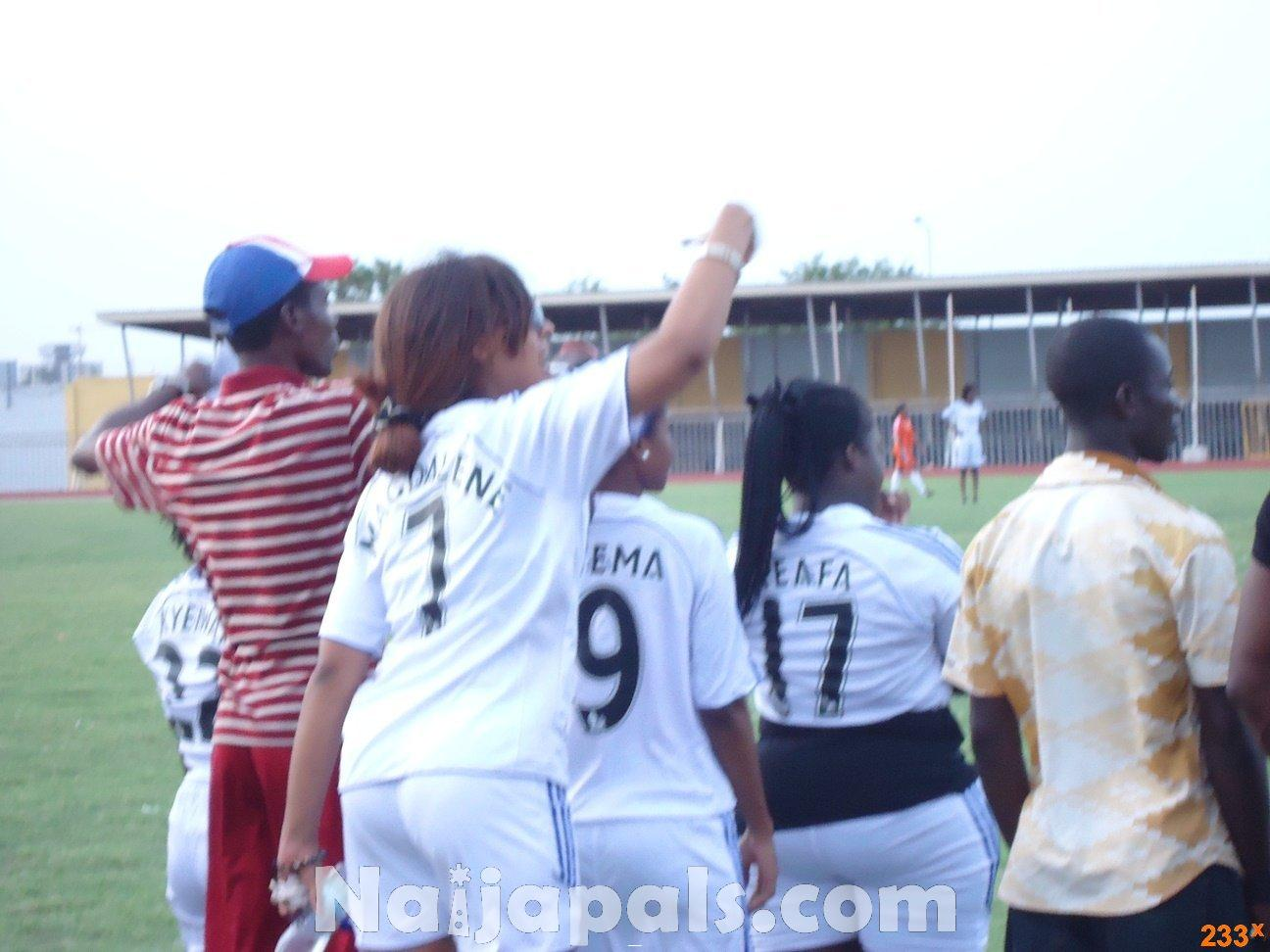 Ghana Female Celebrities Soccer Match 90