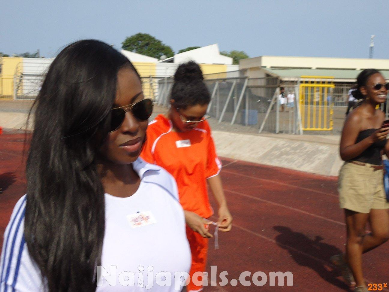 Ghana Female Celebrities Soccer Match 92